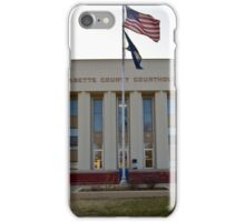 Labette County, Kansas, Courthouse iPhone Case/Skin