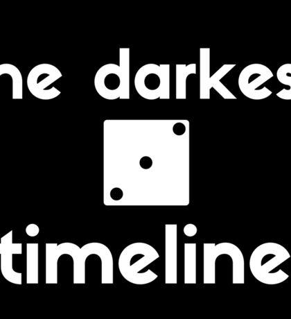 the darkest timeline sticker Sticker