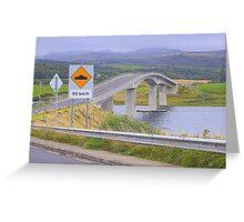 Harry Blaney Bridge...................................Ireland Greeting Card