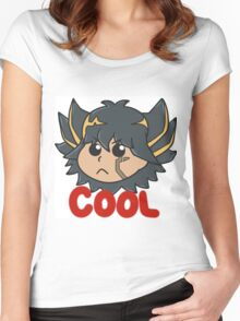 Yusei Fudo is Cool Women's Fitted Scoop T-Shirt