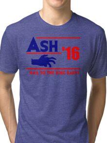 Ash-Evil Hand 2016! Evil Dead Design  Tri-blend T-Shirt