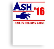 Ash-Evil Hand 2016! Evil Dead Design  Canvas Print