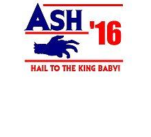 Ash-Evil Hand 2016! Evil Dead Design  Photographic Print