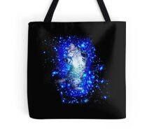 Psychedelic Galaxy Cat in space Tote Bag