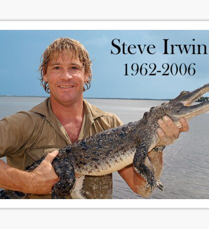 Steve Irwin tribute  Sticker
