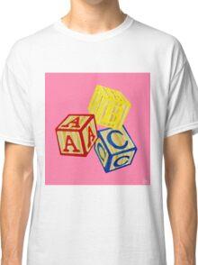Alphabet Blocks Classic T-Shirt
