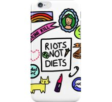 Feminist Badge-fest iPhone Case/Skin