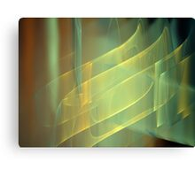 Blue Gold Shimmer Canvas Print