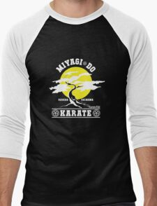 Karate Kid - Mr Miyagi Do Yellow Variant Men's Baseball ¾ T-Shirt