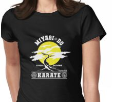 Karate Kid - Mr Miyagi Do Yellow Variant Womens Fitted T-Shirt