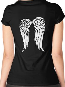 The Archer's Wings Women's Fitted Scoop T-Shirt