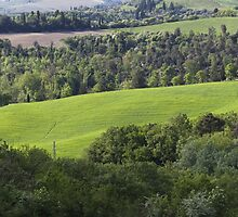 hilly landscape by spetenfia