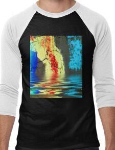 Dripping Colors Men's Baseball ¾ T-Shirt