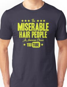 Miserable Hair People | Vintage Unisex T-Shirt