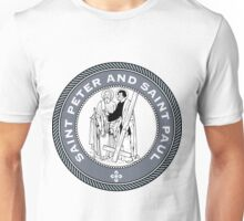 SAINT PETER AND SAINT PAUL MEDALLION Unisex T-Shirt