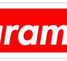 Harambe - Supreme Logo Sticker