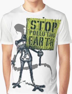 save earth Graphic T-Shirt