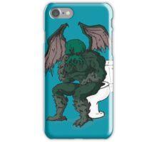 Cthulhu's Throne iPhone Case/Skin