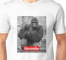 Harambe - Supreme Logo - Picture Unisex T-Shirt