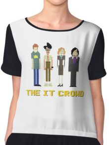 The IT Crowd – Roy, Moss, Jen and Douglas Chiffon Top
