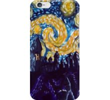Hogwarts Starry Night iPhone Case/Skin