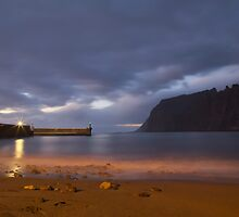 Los Gigantes, Tenerife, Spain by Justin Mitchell