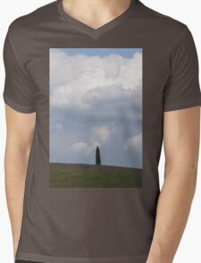 landscape hilly Mens V-Neck T-Shirt