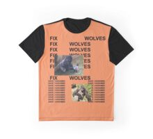 FIX WOLVES SAVE HARAMBE Graphic T-Shirt