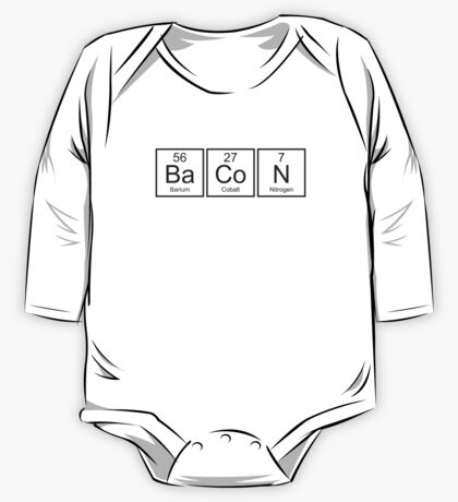 Bacon One Piece - Long Sleeve
