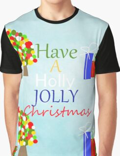 Holly Jolly Christmas Graphic T-Shirt