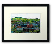 Montreal Suburb Framed Print