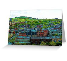 Montreal Suburb Greeting Card