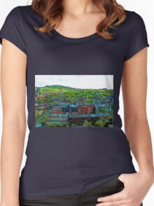 Montreal Suburb Women's Fitted Scoop T-Shirt