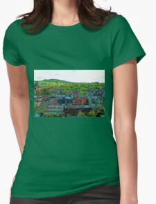 Montreal Suburb Womens Fitted T-Shirt