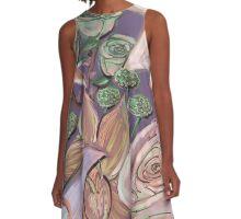 Sherbert Garden A-Line Dress