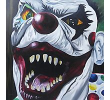 Send in The Clowns Photographic Print