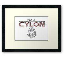 I am a Cylon Framed Print