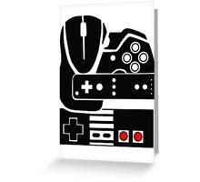 Gaming Collage Greeting Card