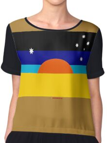New Australian Flag? Chiffon Top