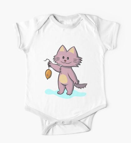 A game of Cat and Mouse One Piece - Short Sleeve