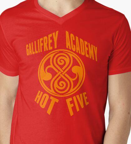Gallifrey Academy Hot Five Mens V-Neck T-Shirt