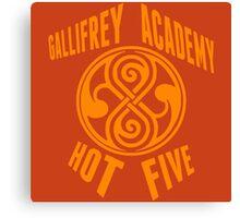 Gallifrey Academy Hot Five Canvas Print