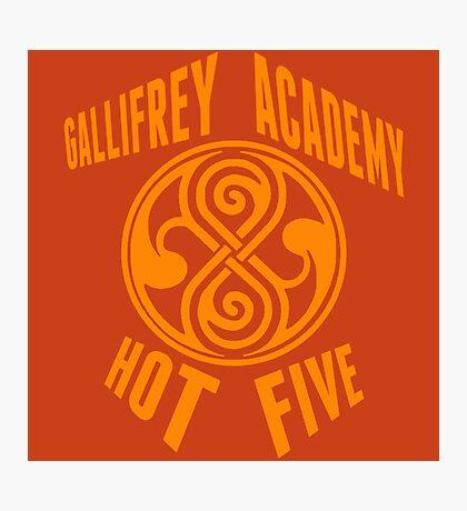 Gallifrey Academy Hot Five Photographic Print
