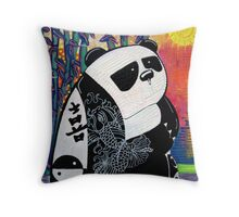 Panda Zen Master Throw Pillow