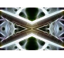 Shining Xs Photographic Print