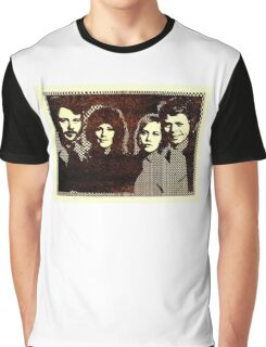 ABBA 1978's computer graphic design. ASCII art restored by Inspiredpeople! Graphic T-Shirt