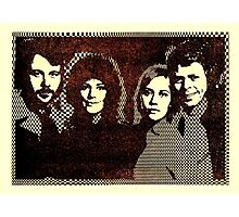ABBA 1978's computer graphic design. ASCII art restored by Inspiredpeople! Photographic Print