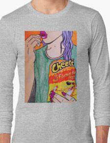 Hot cheetos are life. Long Sleeve T-Shirt