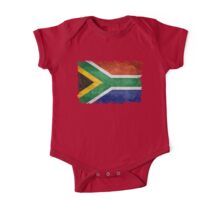 National flag of the Republic of South Africa One Piece - Short Sleeve