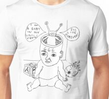 Devil Baby Drawing Unisex T-Shirt